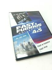 Fast and Furious - Fast Five DVD, double feature