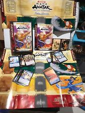 Avatar The Last Airbender Quickstrike Trading Card Game 100% Complete Used