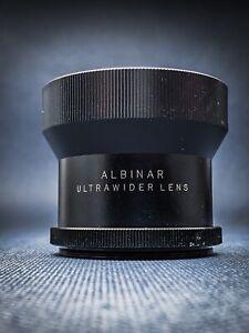 Albinar Ultrawider Lens Fischauge Fisheye Wide Converter MADE IN JAPAN ✧✧✧✧