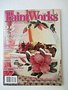 """""""Paint Works"""" Magazine May 2001 Issue FREE SHIP tole painting Craft decorative"""