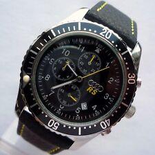 Audi RS S Line Motorsport Racing Sport Car Accessory Design Chronograph Watch