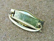 1930's Solid Brass Letter Box - related door knocker handle rim lock key hinges