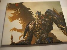 Transformers Movie Canvas Art Prints Optimus Prime Grimlock.