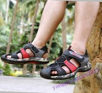 Mens Shoes Closed Toe Stylish Summer Beach Hiking Outdoor Casual Sport Sandals