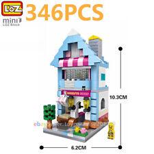 Loz Mini Blocks Diy Kids Adult Building Toys City Street Desserts Shop View