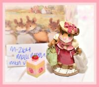 ❤️Wee Forest Folk M-264 Mall Mom Mouse MTN VIEW Collectibles RARE 100 Made❤️