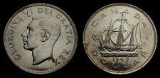 1949 Canada Silver Dollar King George VI MS-63+
