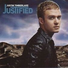 Justin Timberlake Justified CD 13 Track With Poster (9224632) European Jive 20