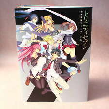 Trinity Seven - Akinari Nao Artworks - ANIME ARTBOOK NEW