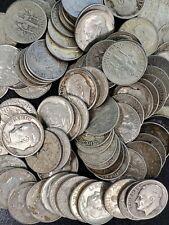🔥 $1 Face Pre 1964 Roosevelt Dimes 90% Silver (10 total) Junk Lot