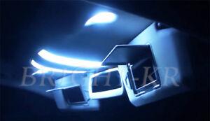Fits Mercedes C Class W204 INTERIOR UPGRADE COOL WHITE LED LIGHT BULBS SET