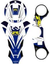 Adhésifs 3D Bleu Protections Gsx-R Compatible Pour Suzuki Moto Gsxr 600-750