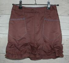 Jupe marron TBE marque Marithé François Girbaud taille 8 ans