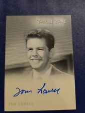 2009 Complete Twilight Zone 50th Anniversary Tom Lowell A127 autograph card