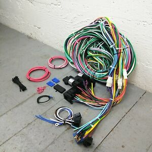 1969 Ford Torino 428 Wire Harness Upgrade Kit fits painless new compact circuit