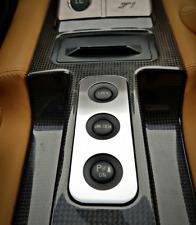 FERRARI f599 ALLUMINIO Mascherina Interruttore Console GTB HGTE GTO 599xx inizia FIORANO