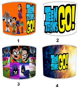 Teen Titans Lampshades, Ideal To Match Go Posters & Wall Hangings