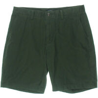 Nautica Shorts Classic Fit Dark Everest Twill Khaki Chino Deck Size 34 NEW Mens