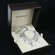 HTF Burberry Charm Bracelet Watch, Swiss Made, Petite, Waterproof, NIB