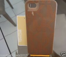 Michael Kors for iphone 5/5S Brown Snap on 1 Piece protective case CLEARANCE