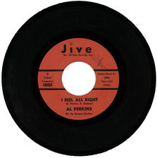 "AL PERKINS  ""IT'S GOOD ENOUGH c/w I FEEL ALRIGHT""  NORTHERN SOUL / R&B  LISTEN!"