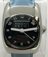 Pasquale Bruni Automatic S' Steel  Watch Light Blue Numeral Dial 29mm w/ w/ B&P