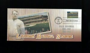 2001 New York City Legendary Baseball Polo Grounds Stadium MBA First Day Cover