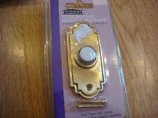 Broan Push Button  Brass Door Bell Chime Buzzer New  B831L