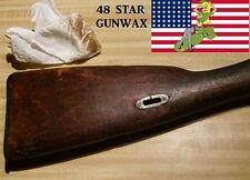 48 STAR GUN WAX & WOOD PASTE, VETERAN MADE IN THE USA, 2 Oz