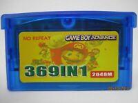Gameboy advance 369 in 1 multi cart GBA Super Mario Pokemon Kirby FREE SHIPPING
