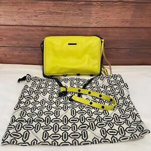 Rebecca Minkoff Women's Lemon Cute Vintage Leather Crossbody Bag