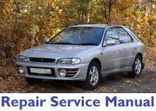 SUBARU IMPREZA 1993- 1996 OFFICIAL FACTORY SERVICE REPAIR MANUAL PDF FAST SEND