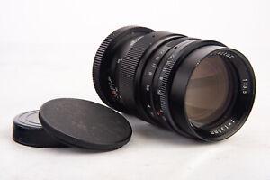 Vivitar Tele 135mm f/3.5 Telephoto Prime Lens with Caps for M42 Near MINT V18