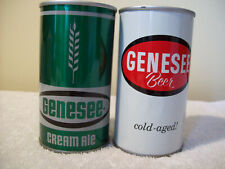 New Listing2 Genesee Cans. One Ale, The Other Be Beer. 12oz Steel
