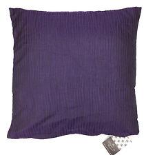 "4 New Decorative Decor Throw Sofa Pillow Case Cushion Cover Wavy 18"" WINE PURPLE"