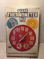 Giant Thermometer Snap-Fit Model Kit~ by Lindberg ~1972