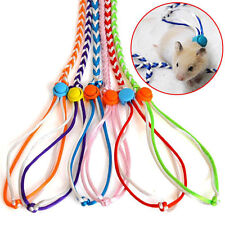 Pet Twist Model Traction Rope for Small Animals Hamster Mouse Walk Collars Lesh
