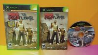25 To Life  -  Microsoft XBOX OG Game - 1 Owner Near Mint Disc Bought New !
