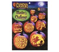 PUMPKIN MASTERS ~Masters Challenge Halloween 8 Intricate Patterns NEW!