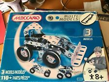 Meccano multiple models 3 in 1