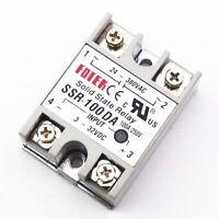 1Pcs Solid State Relay Module 3-32V DC Input 24-380VAC SSR-100DA 100A