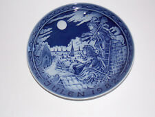 """Royal Copenhagen - """"The Shepherdess and the Sweep"""" Plate - 1982"""