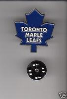 TORONTO MAPLE LEAFS NHL Hockey Team Logo METAL HAT LAPEL PIN New Sealed Mint