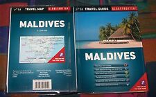 MALDIVES (Malediven) - Travel Guide + Map, Globetrotter # New Holland Publ.