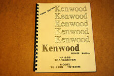 TS830S Factory Service Manual, High Quality Reproduction, 3rd edition