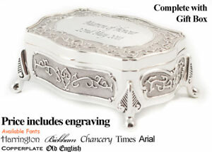 Matron of Honour Personalised Trinket Box Gift