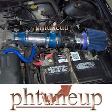 BLUE 1998-2002 MERCURY COUGAR MYSTIGUE 2.5 2.5L V6 AIR INTAKE KIT + BLUE FILTER