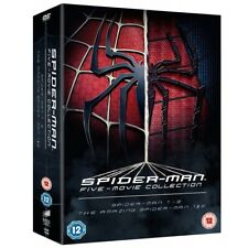 The Spider-man Complete Five Film Collection DVD 5050630558032
