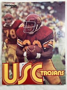 USC Trojans 1973 College Football Program by Touchdown Illustrated
