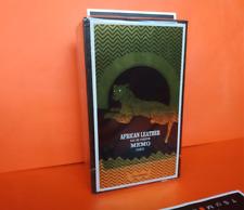 Memo Paris African Leather Eau De Toilette 75 ml 2.53 oz. New in box